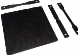 Short Carbon Fiber Reinforced PEEK: Injection Molded Plate and Specimens Machined From Plate